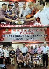 Majlis Rumah Terbuka Tahun Baru Cina Veteran Bureau 2015