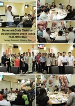 Dinner with State Chairman & State Delegate Division Tanjong