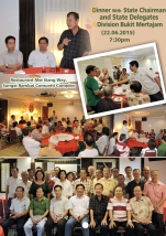 Dinner with State Chairman & State Delegate Division Bukit Mertajam
