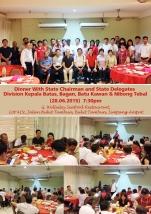 Dinner Division Kepala Batas, Bagan, Batu Kawan & Nibong Tebal