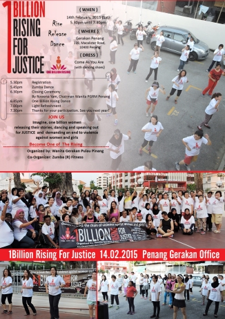 1Billion Rising For Justice
