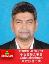 Gobalakrishnan SLC apponttee