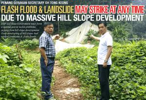 OhTongKeong 20150918 Penang Flood Hillslope Development BI