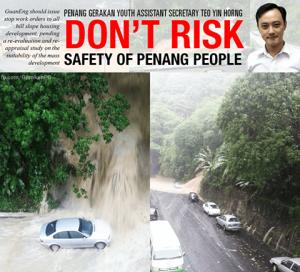 TeoYinHorng 20150926 PenangFlood HillslopeDevelopment BI